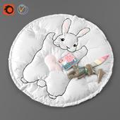 """Children's rug """"Bunny"""""""