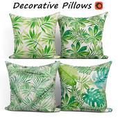 Decorative pillows set 197 BLUETTEK Modern