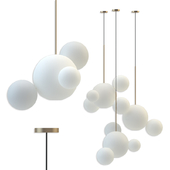 Giopato & Coombes Bolle Frosted Pendant Bubbles 3
