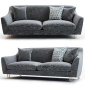 West elm / Loveseat sofa