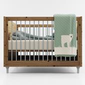 Crib Baby Bed 01
