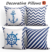 Decorative Pillow set 202 BLUETTEK Modern