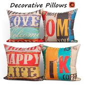 Decorative pillows set 203 MIULEE