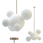 Giopato & Coombes Bolle Frosted Pendant Bubbles 5