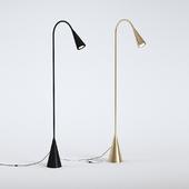 Black & Bronze Floor Lamp