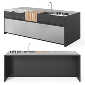 Roshults Outdoor Modular Kitchen / Outdoor Kitchen