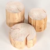 3 coffee table stump.