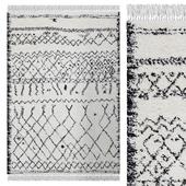 Carpet Think Rugs Boho 5402 Black / White