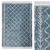 Carpet Think Rugs Boho 7043 Blue