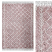 Carpet Think Rugs Boho 7043 Rose