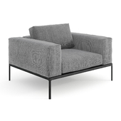 Gloster Grid Lounge Chair Unit 8 / Outdoor module 8