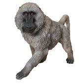 Deco Figurine Monkey Walking Baboon XL