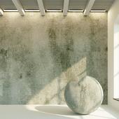 Concrete wall. Old concrete. 87