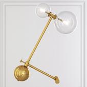 BOOM TABLE LAMP brass