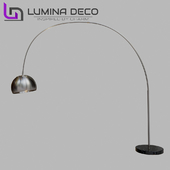 """OM"" Floor Lamp Lumina Deco Azzuro chrome"