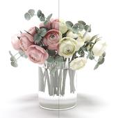 Букет цветов в вазе 28