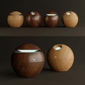Wooden ball diffuser