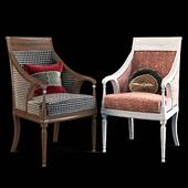 Armchair with decor 7