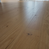 Alabaster Glossy Wooden Oak Floor