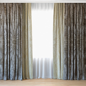 Curtains 37 | Curtains with tulle