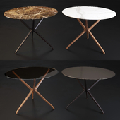 Ceccotti Collezioni: Coffee Table  - Croix de Bois H53