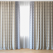 Curtains 42 | Curtains with tulle
