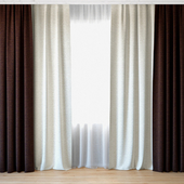 Curtains 43 | Curtains with tulle