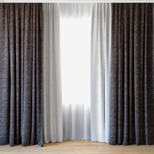 Curtains 45 | Curtains with tulle