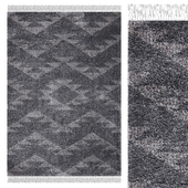 Carpet Think Rugs Boho 8733 Charcoal