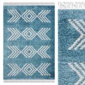 Carpet Think Rugs Boho 8886 Blue
