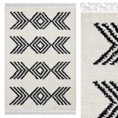 Carpet Think Rugs Boho 8886 Ivory / Black