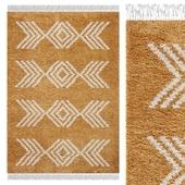 Carpet Think Rugs Boho 8886 Yellow