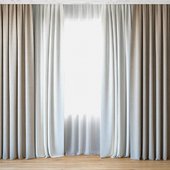 Curtains 46 | Curtains with tulle