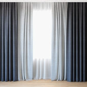 Curtains 47 | Curtains with tulle