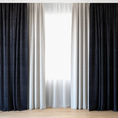 Curtains 49 | Curtains with tulle