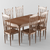 Vintage table and chair