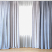 Curtains 50 | Curtains with tulle
