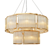 Stilio Double Ring pendant lamp