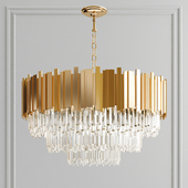 Creative crystal chandelier