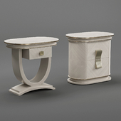 A.r. Arredamenti Oliver Collection  Night Table Pair Art. Ol86-87