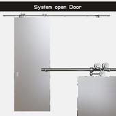 """Door opening system """"Exterus"""" (sliding system)"""