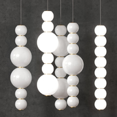 A set of lamps_Formagenda_PEARLS DOUBLE