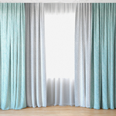 Curtains 54 | Curtains with tulle
