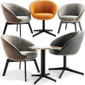 Minotti Russell Little Lounge Chair Set