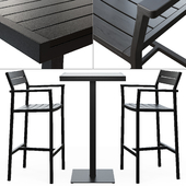 Design Within Reach _ Eos Bar Stool and Bar-Height Table