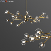 Astra Gold Chandelier Imperiumloft