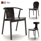 Cappellini chair Newood series