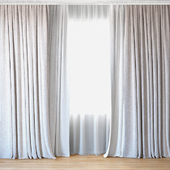 Curtains 55   Curtains with Tulle