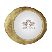 (OM) Mirror Mirror Gold Grand and Gold Golden Romano Home