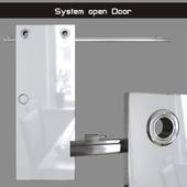 "Door opening system ""Circle"" (sliding system)"